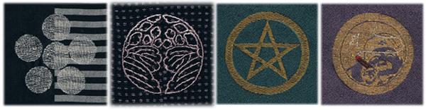 着物家紋刺繍