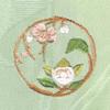 梅と橘 着物 お洒落紋蘭 お洒落紋 着物 華紋 刺繍 加賀紋
