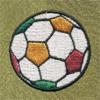 サッカーボール 着物 お洒落紋蘭 お洒落紋 着物 華紋 刺繍 加賀紋