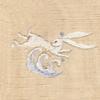 波にウサギ 着物 お洒落紋蘭 お洒落紋 着物 華紋 刺繍 加賀紋