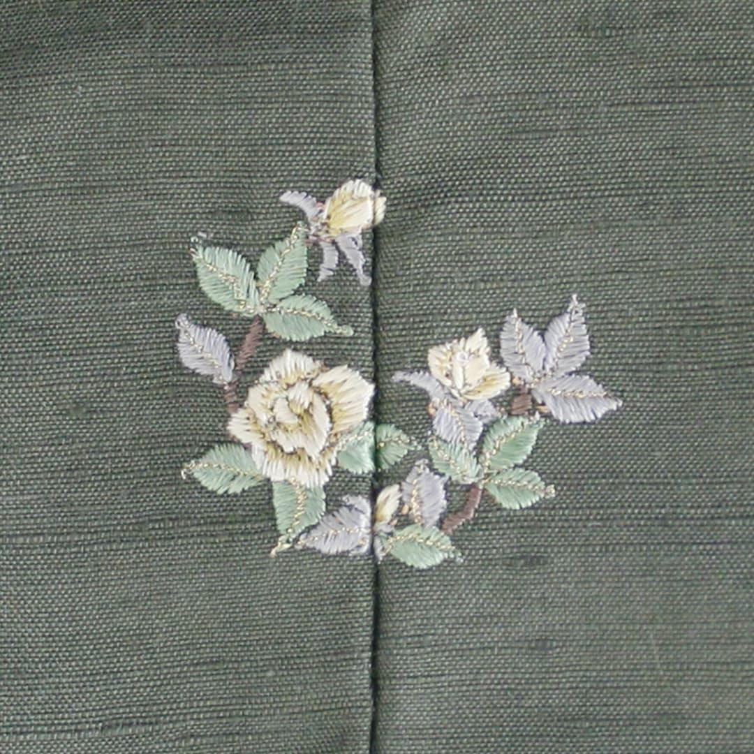 【薔薇】 お洒落紋 着物 華紋 刺繍 加賀紋